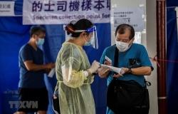 Hong Kong đang phải đối mặt với sự bùng phát dịch COVID-19 diện rộng