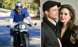 Brad Pitt thường xuyên đến thăm nhà Jolie