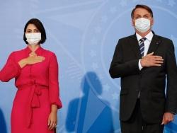 Đệ nhất phu nhân Brazil dương tính với virus SARS-CoV-2