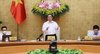 Chính phủ thống nhất chưa thay đổi mục tiêu tăng trưởng kinh tế, giữ nguyên hai kịch bản