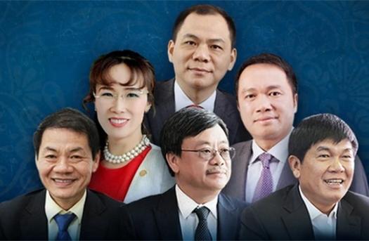 6 tỷ phú USD Việt đang sở hữu bao nhiêu tiền?