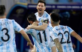 Messi một mình 'gánh' Argentina vào bán kết Copa America