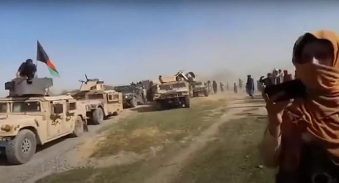 Báo động lượng lớn phương tiện quân sự của Mỹ rơi vào tay Taliban ảnh 1