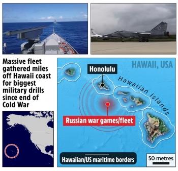 Nga tung video tập trận gần Hawaii, Nhật Bản nhắc khéo Mỹ trận Trân Châu Cảng