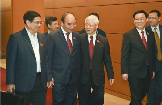 Trung ương giới thiệu nhân sự Chủ tịch nước, Thủ tướng, Chủ tịch Quốc hội
