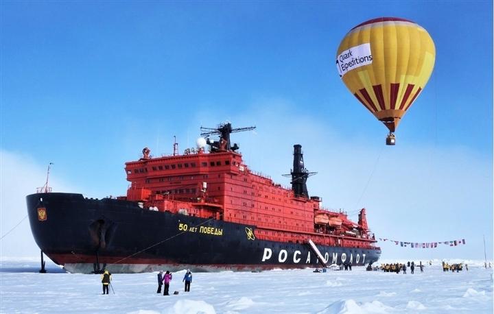 Những thế lực 'đáng gờm' ở Bắc Cực: Đội tàu phá băng nguyên tử độc nhất của Nga - 3