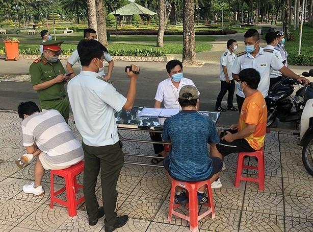 Ngày đầu tiên TP Hồ Chí Minh thực hiện Chỉ thị 16