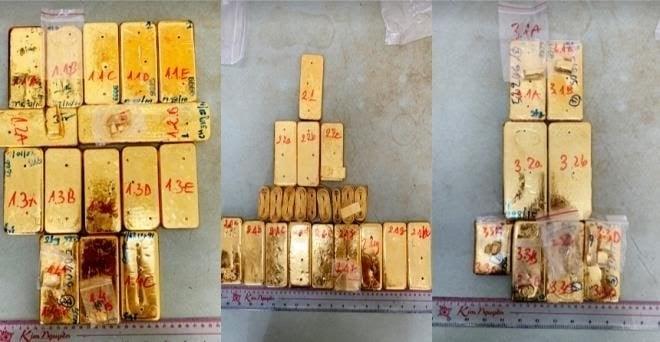 Khám xét 16 địa điểm liên quan trùm buôn lậu Mười Tường: Thu giữ thêm 36kg vàng - 3