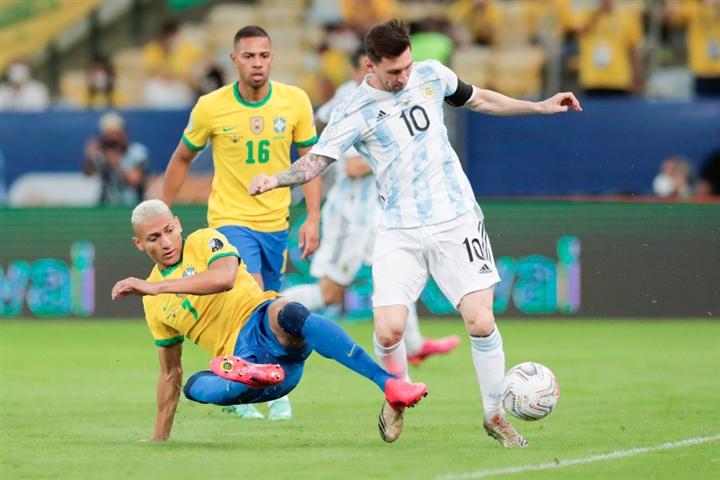 Đánh bại Brazil, Messi cùng Argentina giải cơn khát vô địch Copa America - 1