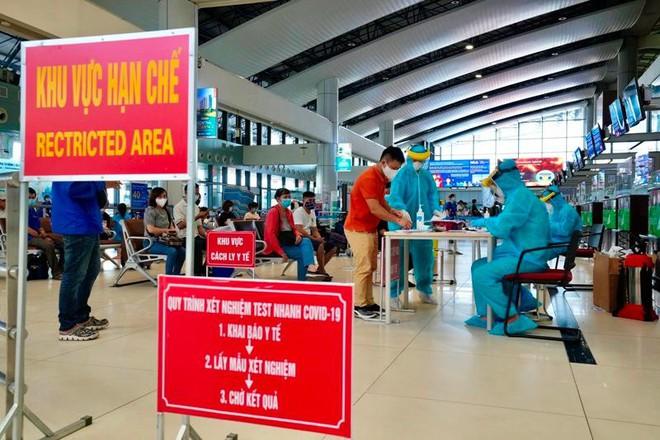 Sân bay Nội Bài mở dịch vụ xét nghiệm nhanh Covid-19 có kết quả sau 30 phút ảnh 2