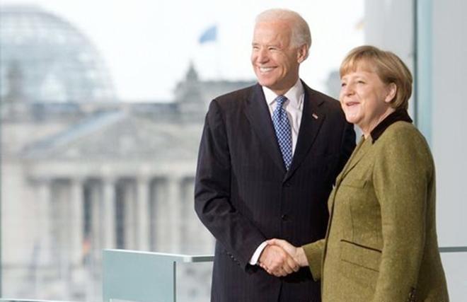 Chuyến công du Mỹ với sứ mệnh hàn gắn tình đồng minh của bà Merkel