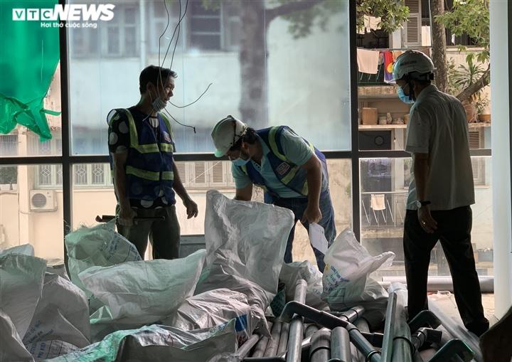 Ảnh: Cận cảnh bên trong bệnh viện dã chiến ở Thuận Kiều Plaza - 10