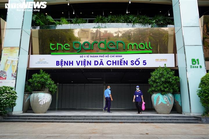 Ảnh: Cận cảnh bên trong bệnh viện dã chiến ở Thuận Kiều Plaza - 1