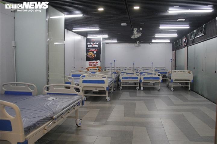 Ảnh: Cận cảnh bên trong bệnh viện dã chiến ở Thuận Kiều Plaza - 4