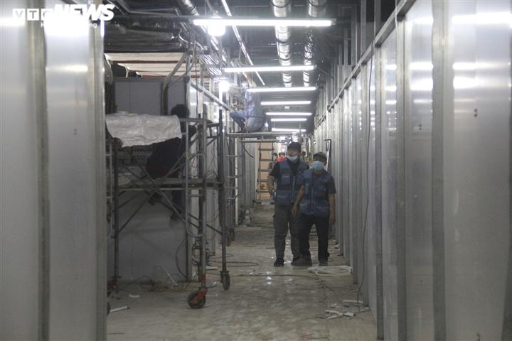 Ảnh: Cận cảnh bên trong bệnh viện dã chiến ở Thuận Kiều Plaza - 16