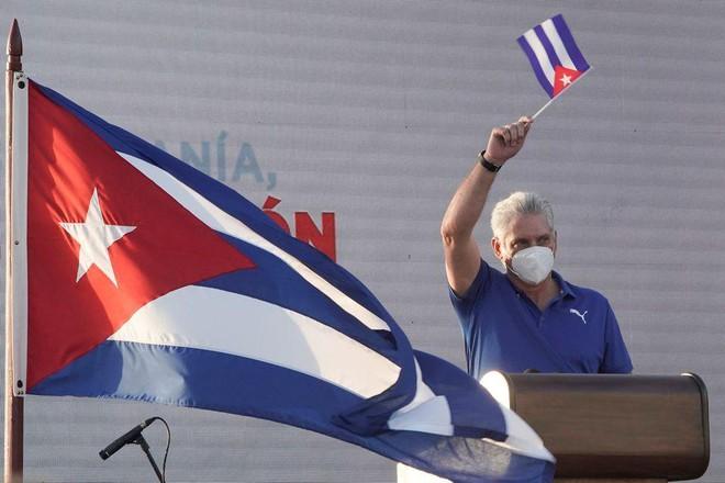Chính phủ Cuba tổ chức tuần hành lớn ở Havana ảnh 2