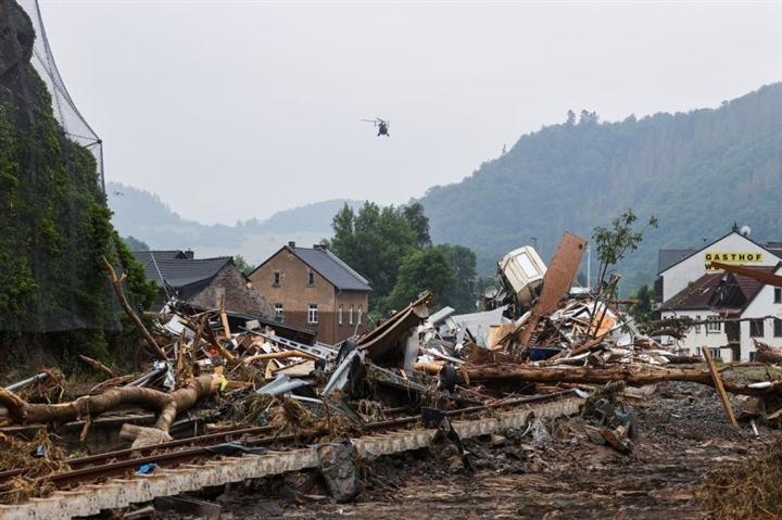 Tại sao lũ lụt ở châu Âu nghiêm trọng?  - 2