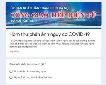 Hà Nội: Tiếp nhận phản ánh về tình hình phòng, chống dịch Covid-19 qua đường dây nóng