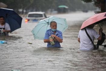 Nhiều thành phố ở Trung Quốc đối mặt nguy cơ mưa lũ lớn