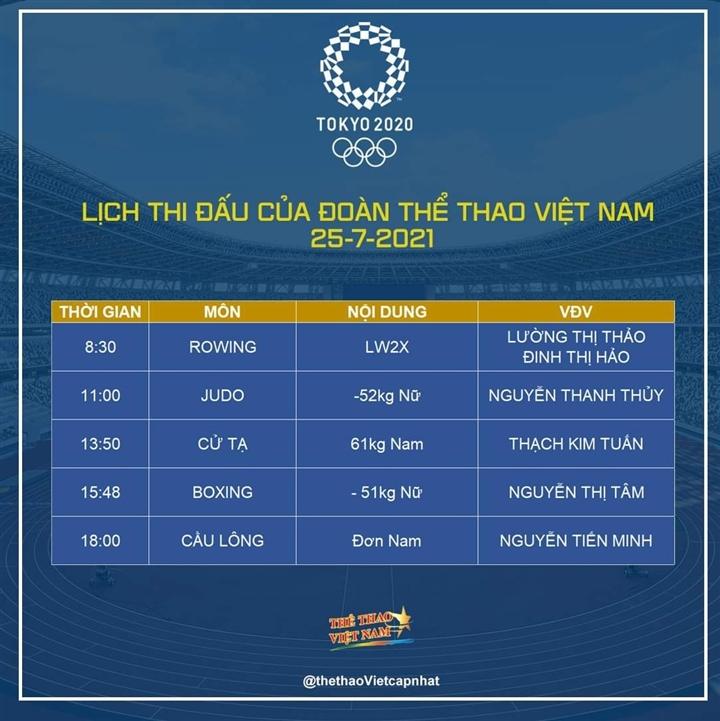 Trực tiếp Olympic Tokyo 2020: Đoàn Việt Nam chờ huy chương đầu tiên - 2