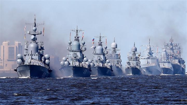 100 tàu chiến, máy bay quân sự tại lễ duyệt binh kỷ niệm thành lập Hải quân Nga - 1