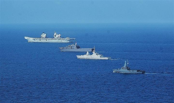 Anh đưa nhóm tàu sân bay vào Biển Đông, Trung Quốc lập tức có hành động - 2