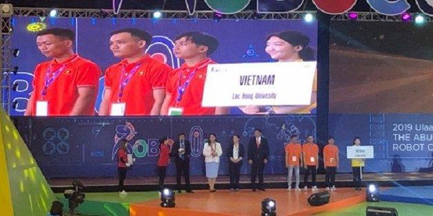 viet nam xep hang 3 tai cuoc thi sang tao robot chau a thai binh duong 2019