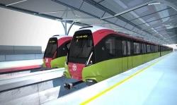Tàu metro Nhổn - Ga Hà Nội sẽ chạy trung bình 35 km/h