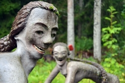 Công viên với những bức tượng phát ra âm thanh ở Phần Lan