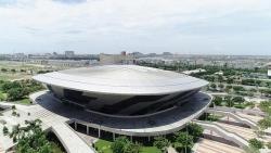 Chỉ 4 ngày, 'đĩa bay' hơn 94.000 m2 ở Đà Nẵng sẽ thành bệnh viện dã chiến