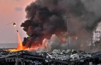 Vụ nổ kinh hoàng ở Beirut: Liban ban bố tình trạng khẩn cấp tại thủ đô