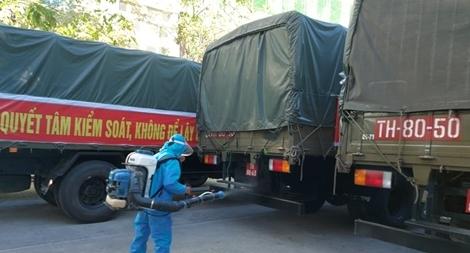 """Thiết bị y tế chống dịch đã về tới """"kho tiền phương"""" ở Đà Nẵng"""
