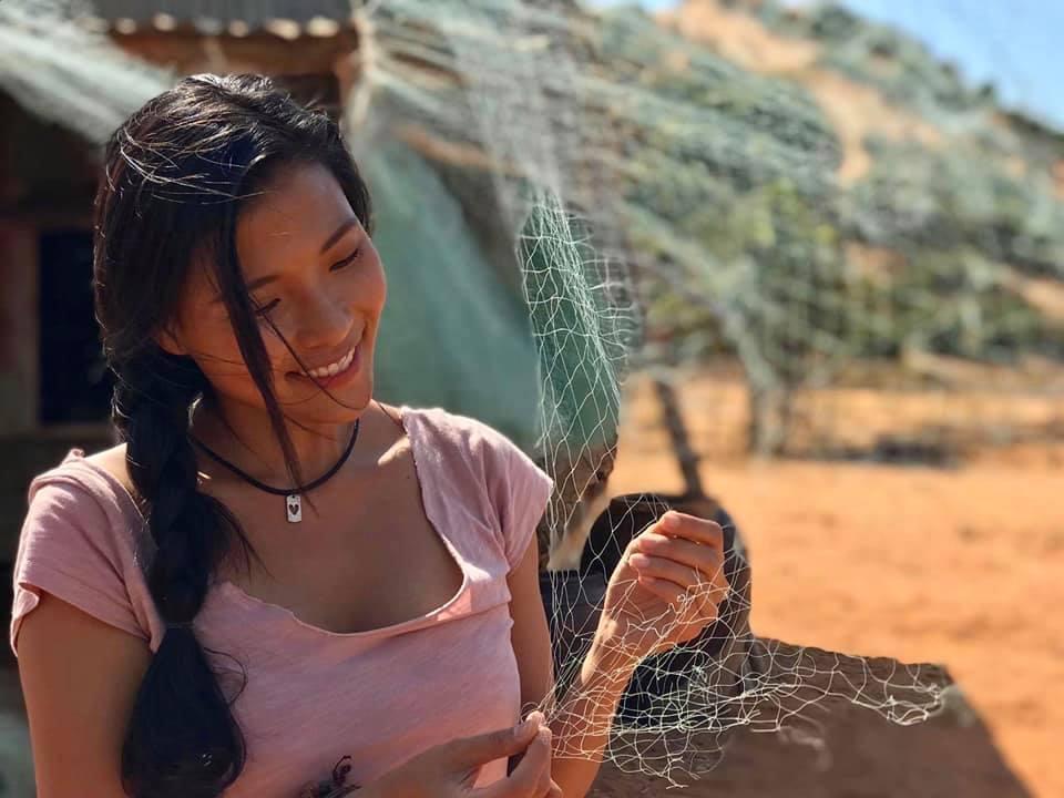 Thuý Diễm 'cảnh báo' chồng phim mình tham gia có nhiều cảnh nóng