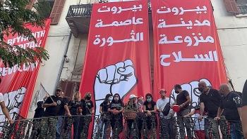 Người biểu tình chiếm trụ sở Bộ Ngoại giao Lebanon