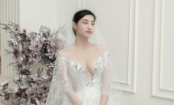 top 3 miss world vietnam 2019 quyen ru voi vay cuoi xuyen thau