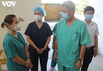 Bệnh viện dã chiến Tiên Sơn (Đà Nẵng) chuẩn bị đi vào hoạt động