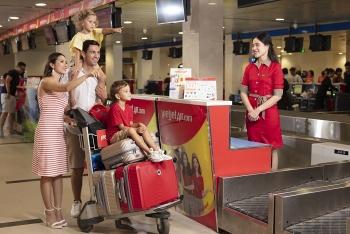 Vietjet miễn phí hành lý ký gửi trên các chặng bay nội địa