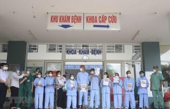 Đà Nẵng: Thêm 10 bệnh nhân mắc COVID-19 được công bố khỏi bệnh