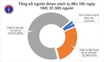 Thêm 4 ca mắc Covid-19 tại Đà Nẵng, Quảng Nam và Hải Dương