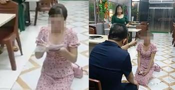 Cô gái bị chủ quán nướng đe dọa, bắt quỳ xin lỗi phải nhập viện