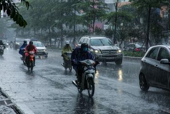 Thời tiết hôm nay 23/8: Cả nước có mưa to và dông vào chiều tối