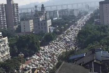 Rò rỉ hóa chất ở thành phố của Trung Quốc, dân hoảng loạn đi sơ tán