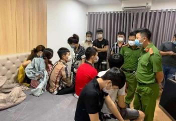 Bắt nhóm thanh niên tổ chức
