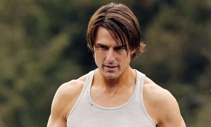 Tom Cruise rèn luyện để đóng mạo hiểm ở tuổi 58