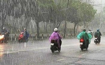 Thời tiết hôm nay 30/8: Bắc Bộ có mưa rào và dông