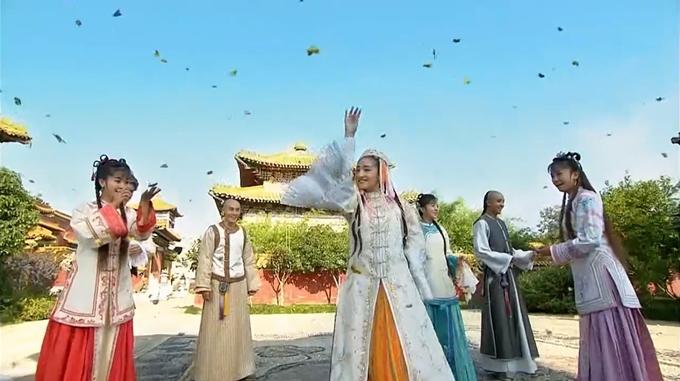 Kỹ xảo trong Hoàn Châu cách cách phiên bản 2011 bị chê giả.