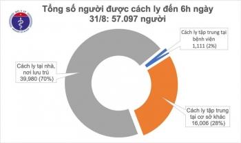Việt Nam không có thêm ca mắc Covid-19 trong 36 giờ qua