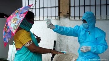 Số ca mắc SARS-CoV-2 tại Ấn Độ liên tục lập kỷ lục