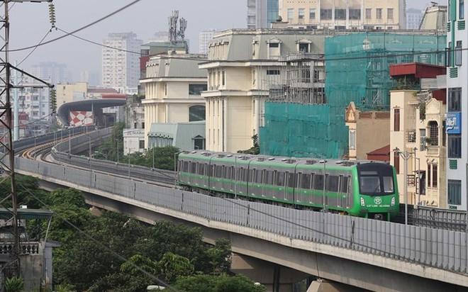 Chính thức ban hành giá vé lượt, vé tháng đường sắt Cát Linh- Hà Đông, chuẩn bị vận hành thương mại