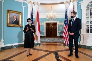 Mỹ - Indonesia tổ chức 'đối thoại chiến lược', cam kết tự do hàng hải Biển Đông